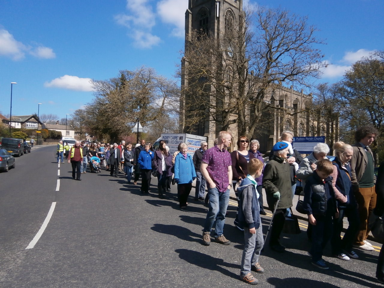 Pudsey Easter Walk